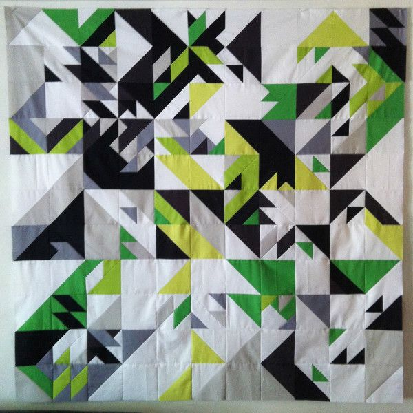 Quilts Made of Code by Elizabeth Elliott Photo