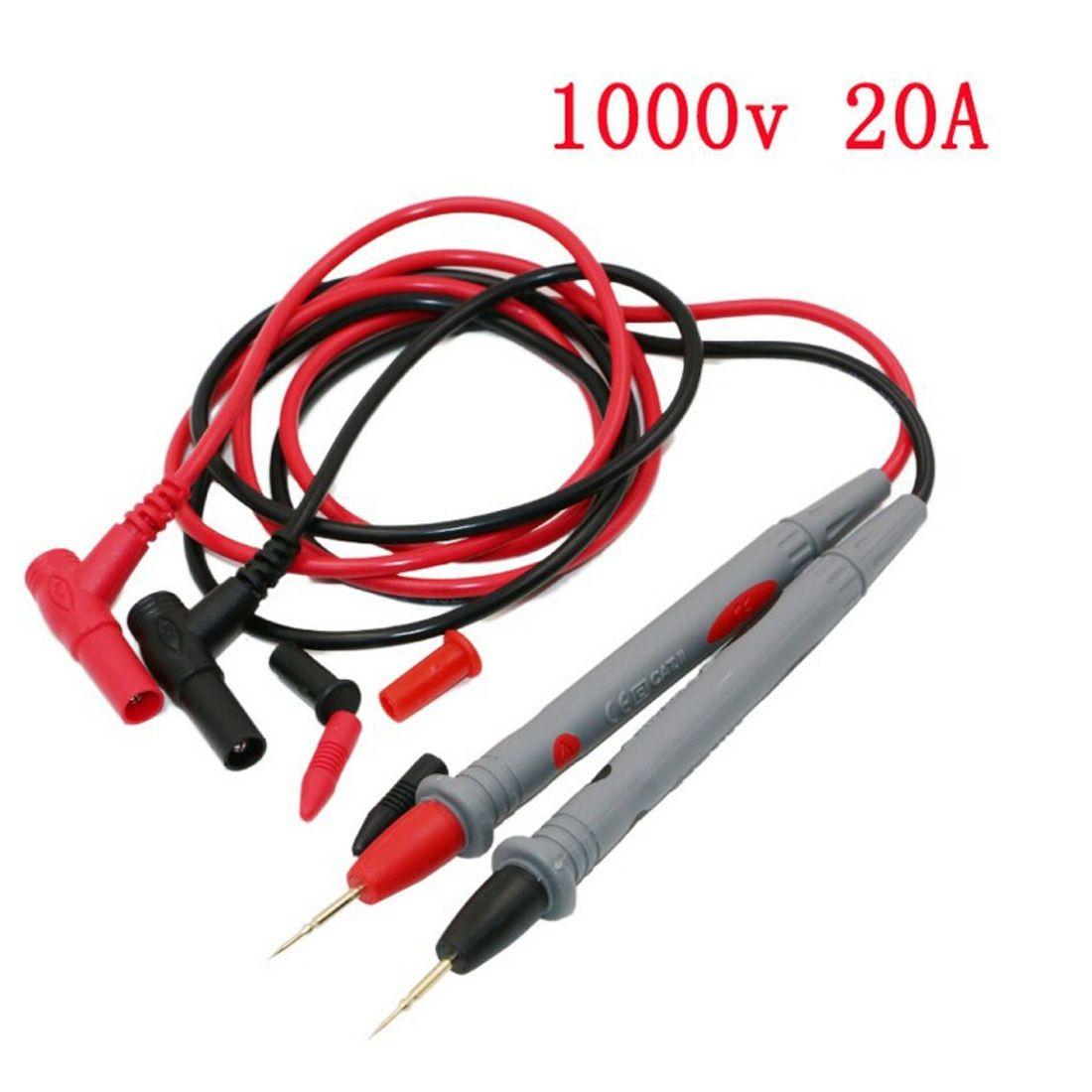 309 Universal Digital Multimeter 1000v 20a Test Lead Probe Cable Electrical Circuit Tester 9v Battery Ebay Smd Smt Needle Tip