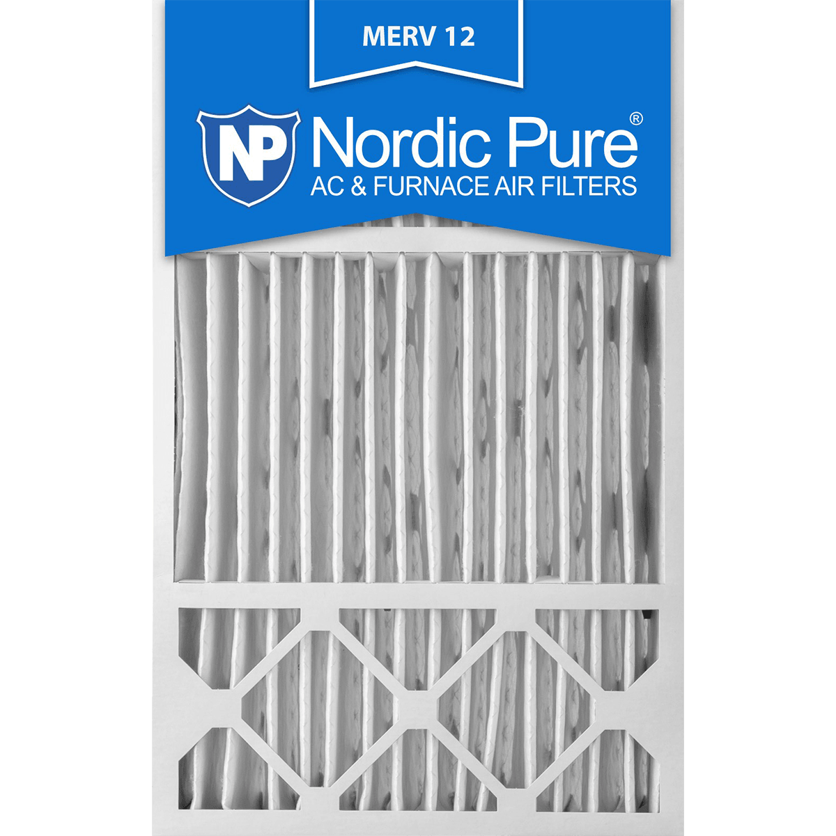 Buy Cheap Nordic Pure Merv 12 Pleated Furnace Filter 16x25x5 16x25x5hm12 1 Pure Products Furnace Filters Merv
