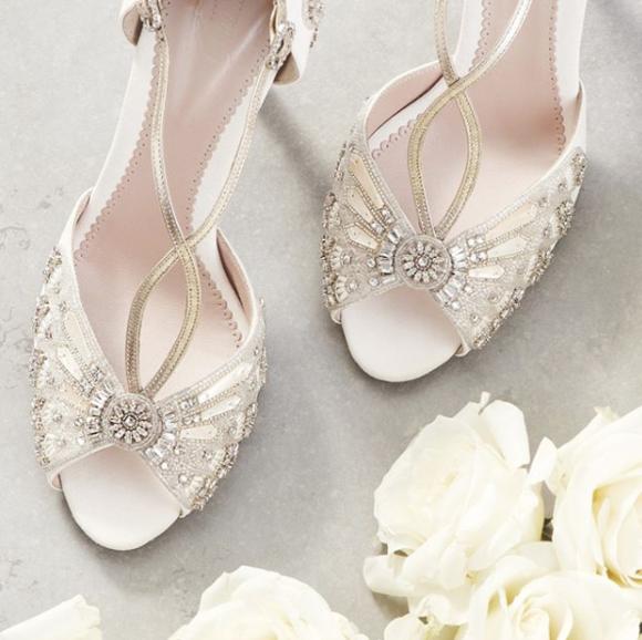 Luxury Bridal Shoes Wedding Shoes Bridal Accessories Emmy