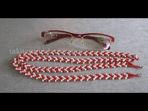 Gözlük İpi - Kolye - Bileklik Yapımı - YouTube