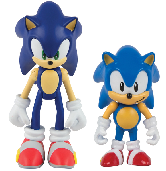 Sonic Forces Figure Pack Exclusive To Gamestop Classic Sonic Sonic Sonic The Hedgehog