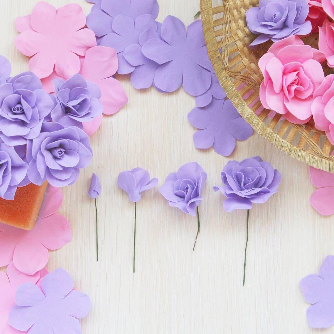 Открытка с бумажными цветами своими руками видео