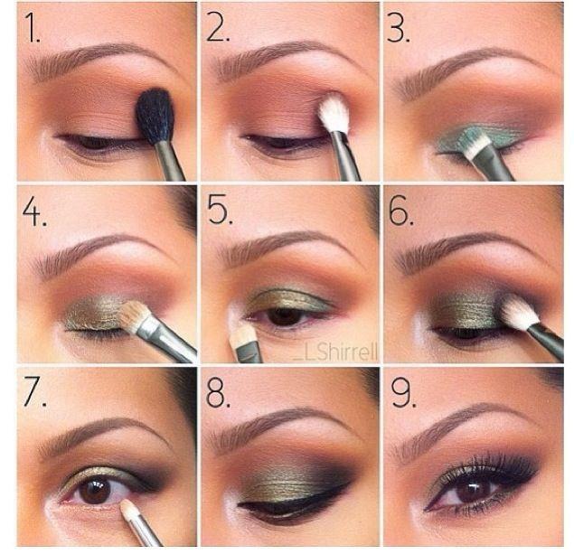 How Apply Eye Makeup Imagenes De Maquillaje De Ojos Aplicar