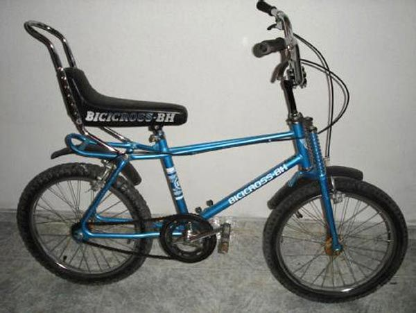 La #bicicleta BH Cross , todo un icono de los años ´80.