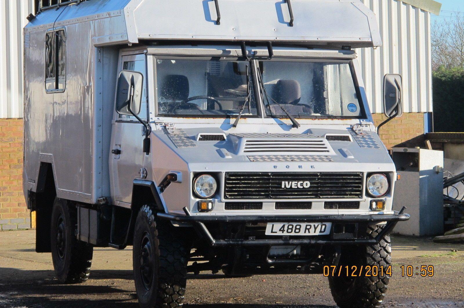 Iveco 40/10 WM 4x4 Expedition Camper | eBay | Iveco umbau ...