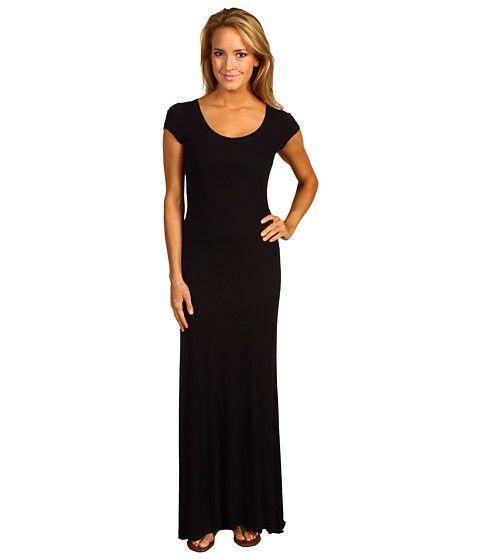 BCBGMAXAZRIA Cap Sleeve Maxi Dress: bridesmaid maxi dress
