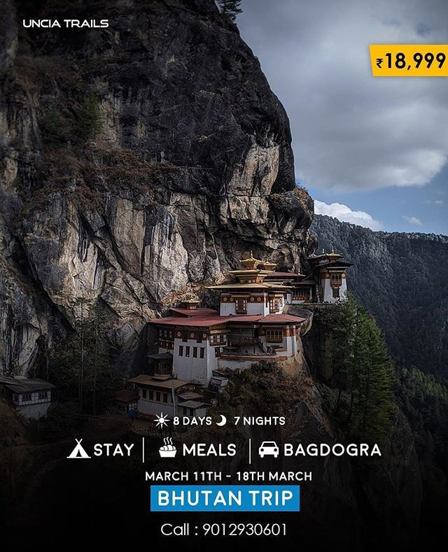 Join us for the most budgeted Bhutan Trip  Price: INR18999  Date: March 11th 202…