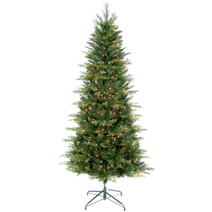 C11 7ft Pre Lit Bramley Christmas Tree Artificial Christmas Tree Christmas Tree Slim Artificial Christmas Trees