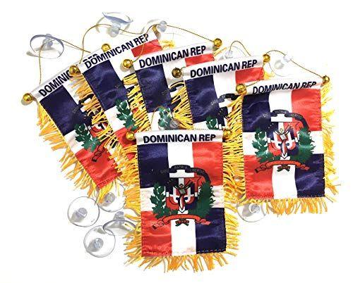 PRK 14 Dominican Republic Flags for Cars Banderas Republi… www.amazon.com/…