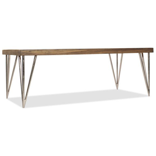 L\'Usine Rectangle Dining Table | Rectangle dining table, Hooker ...