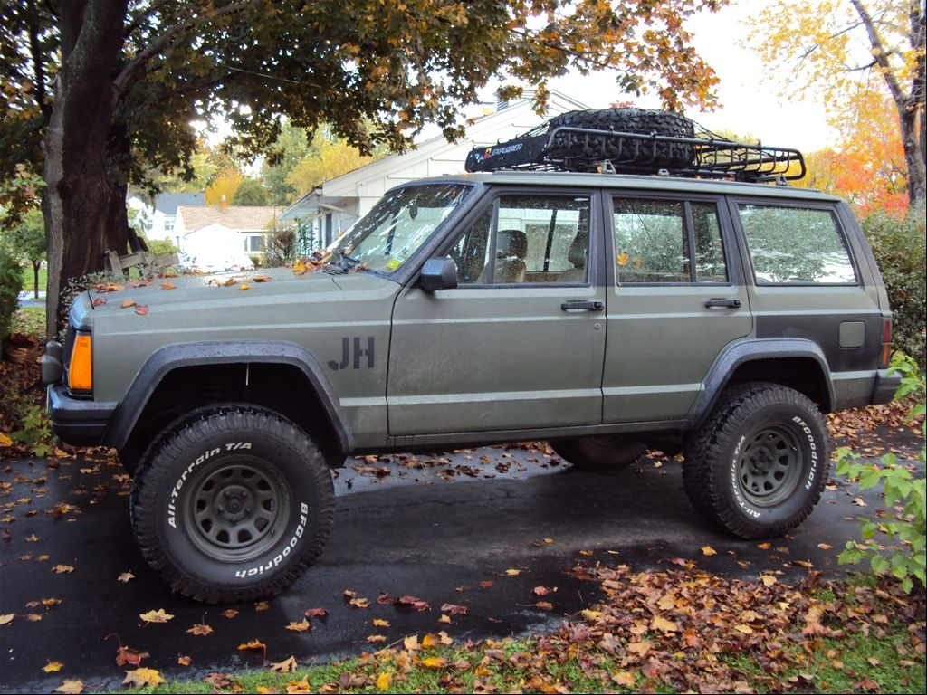 Customized Jeep Cherokee Jeep Cherokee Rogue Status