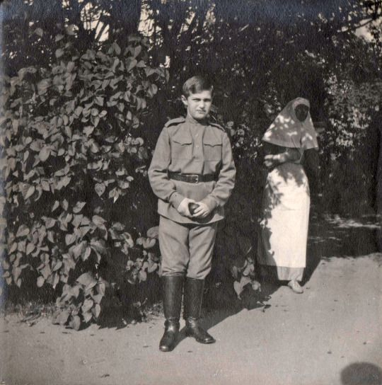 August 1915 - Alexei Nikolaevich Romanov, Russia   Tsarskoe Selo,  GA RF, f. 673 op. 1 in. 204 liters. 24 vol.