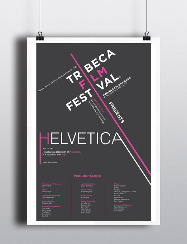 HELVETICA - First and Final Draft on Behance