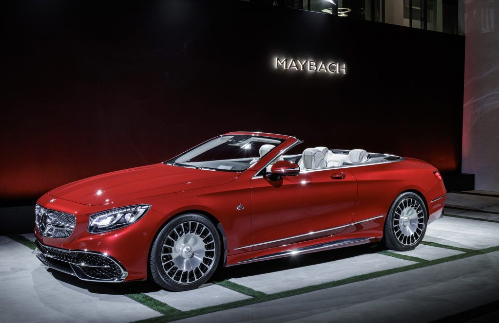 2019 Mercedes Maybach S650 Cabriolet Review Mercedes Maybach