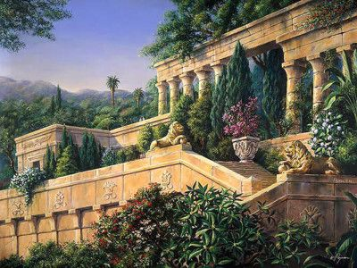 d19bf6306a77585eac541a86a1e8b2ec - Seven Wonders Of The Ancient World Hanging Gardens