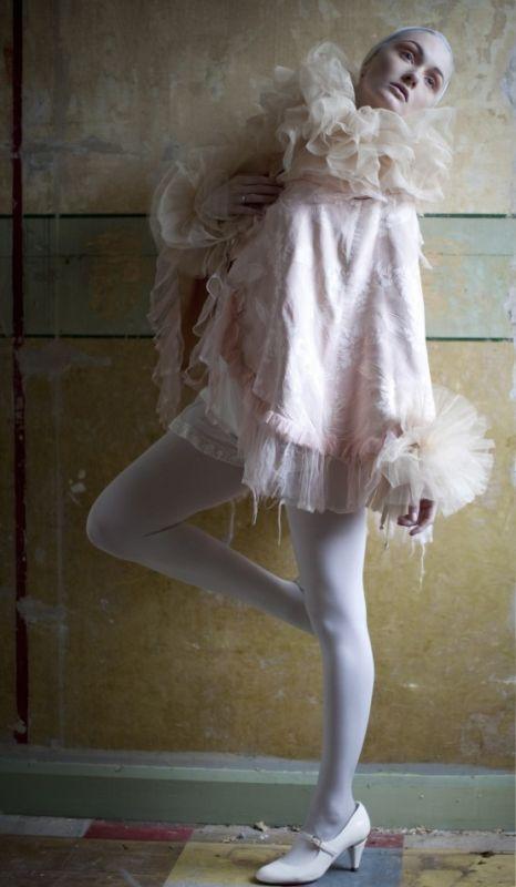 Wedding bridal silk tulle romantic collar ruff  cuffs Romantic - romantic halloween ideas