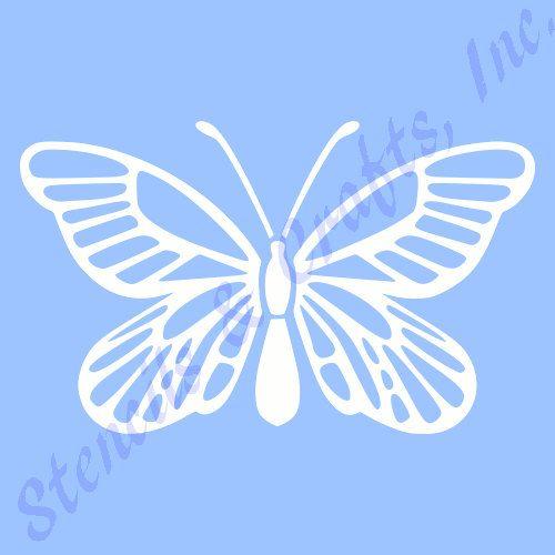 Butterfly Stencil Template Stencils Templates Pattern