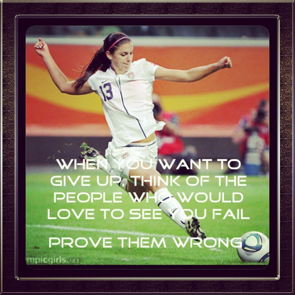 Alex pic and quote soccer Inspirational soccer