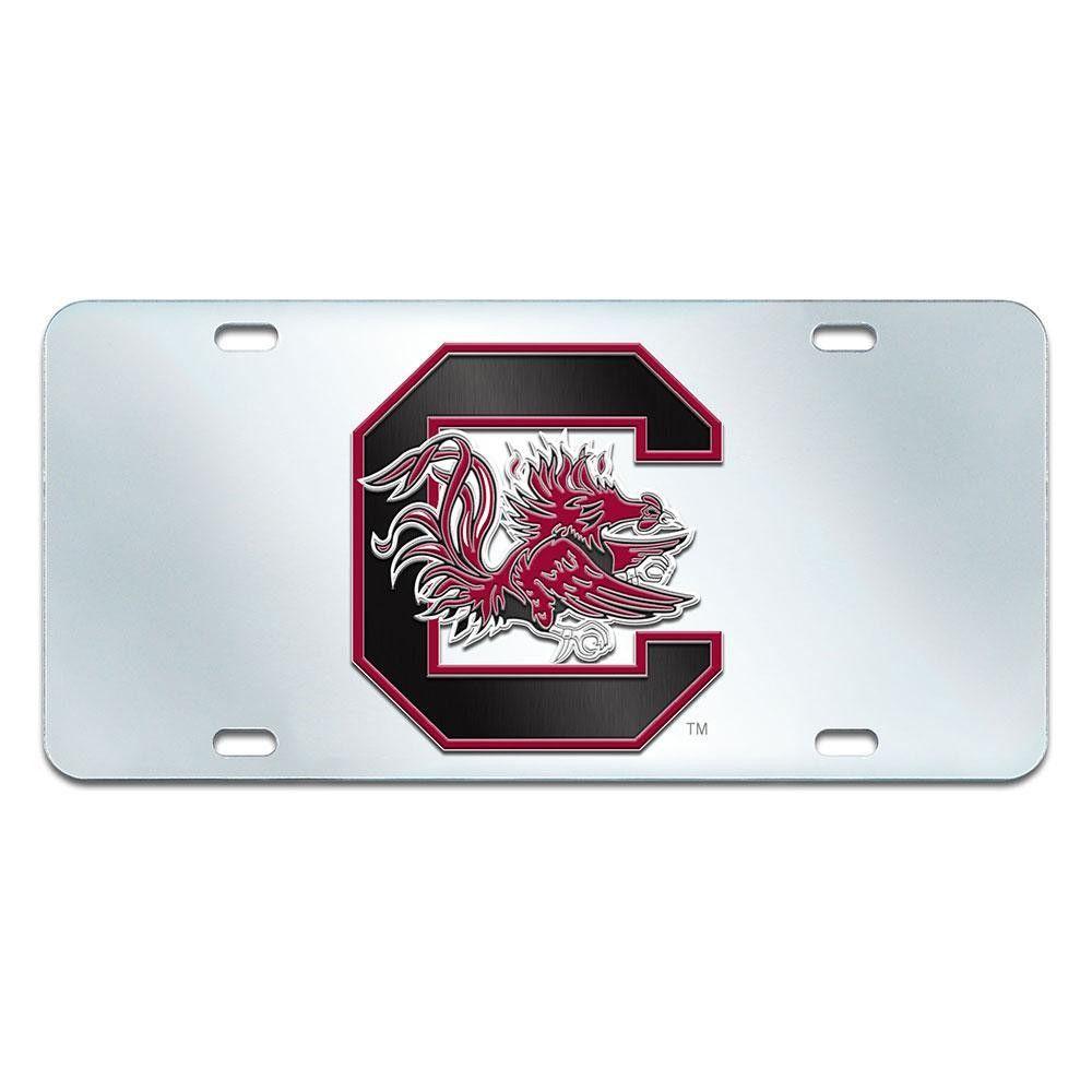 South Carolina Gamecocks NCAA License Plate-Inlaid