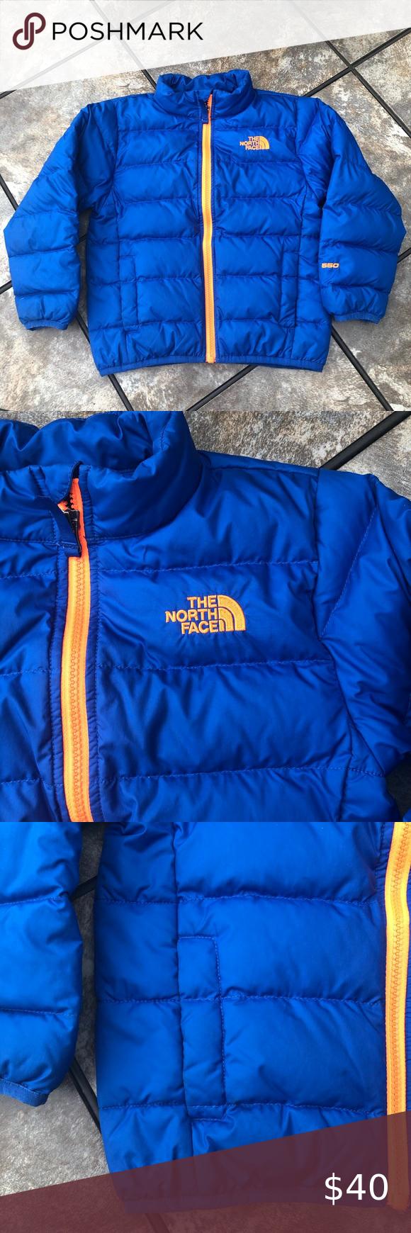 Boys North Face Blue Puffer Coat Blue Puffer Girls North Face Jacket Blue North Face Jacket [ 1740 x 580 Pixel ]