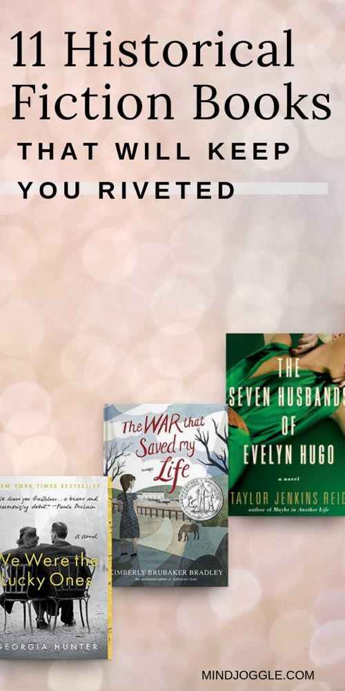 11 Historical Fiction Books that Will Keep You Riveted. These historical fiction page turners are perfect choices for avid and lapsed readers alike. If you're looking to read more books, these are 11 great options that will have you hooked. #books #bookstoread #bestbooks #unputdownable #booklist #readinglist #reading #amreading #historicalfiction
