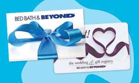 20 Bed, Bath & Beyond Gift Card Fall Giveaway