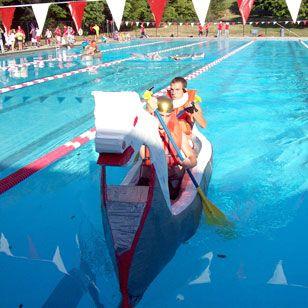 Best 25 Cardboard Boat Race Ideas On Pinterest Diy Boat
