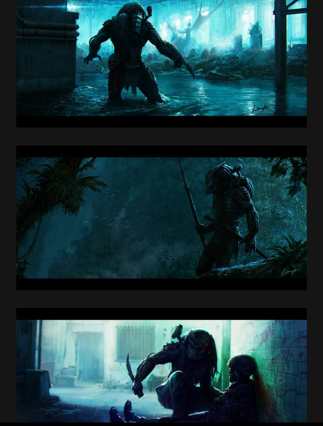 Predator Predator In 2019 Alien Vs Depredador Depredador