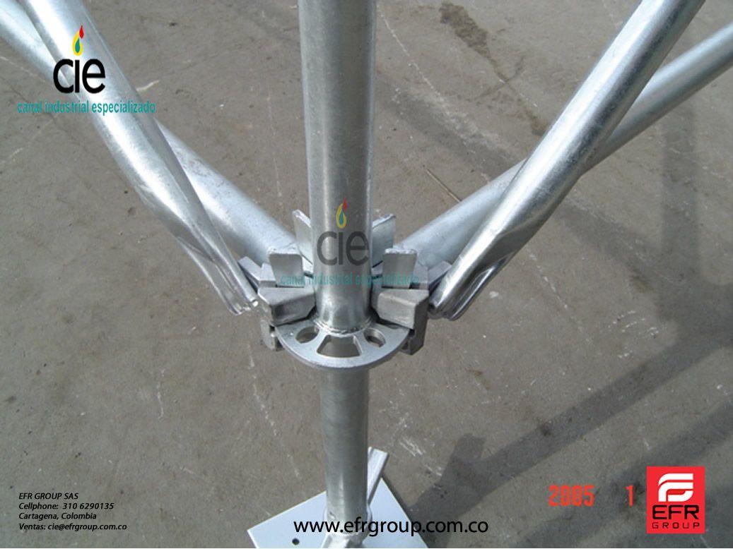 We offer ringlock scaffolding...