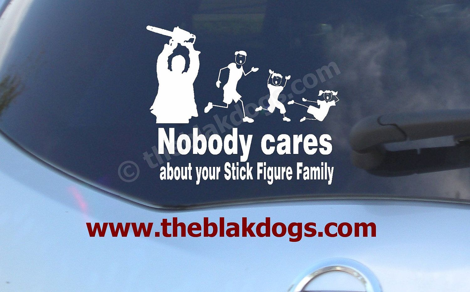 Nobody Cares About Your Sticker Figure Family Stick Figure Family - How to make vinyl stickers stick
