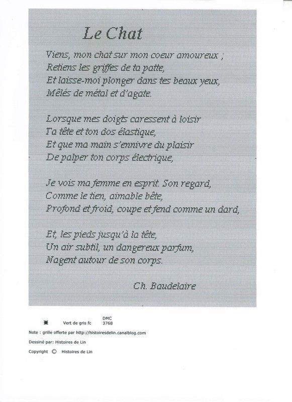 Charles Baudelaire Le Chat Poeme Et Citation Citation Et