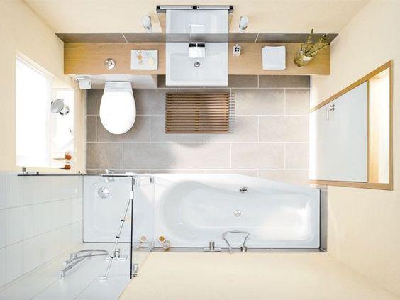 Kleine Badezimmer ~ Bildergebnis für kleines bad länglich bathroom