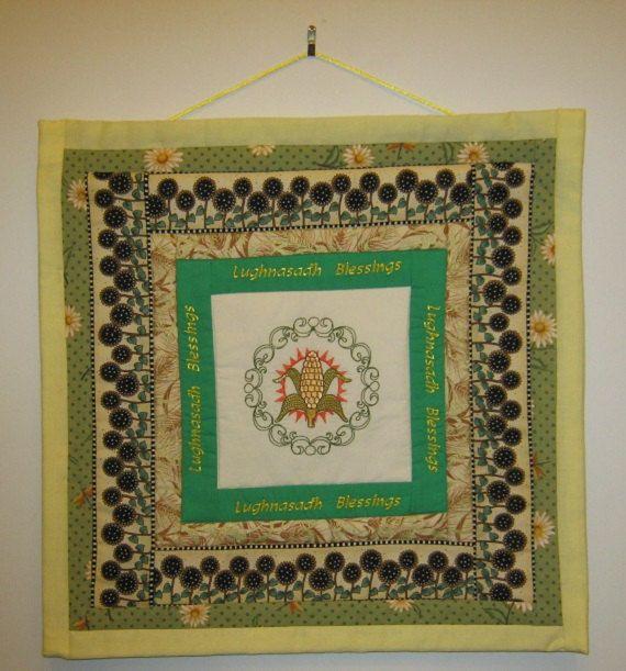 Sabbat Banner  Lughnasadh Lammas van AWellAppointedWitch op Etsy