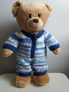 Teddy Bear Onesie Free Knitting Pattern For Bear Lovers Only