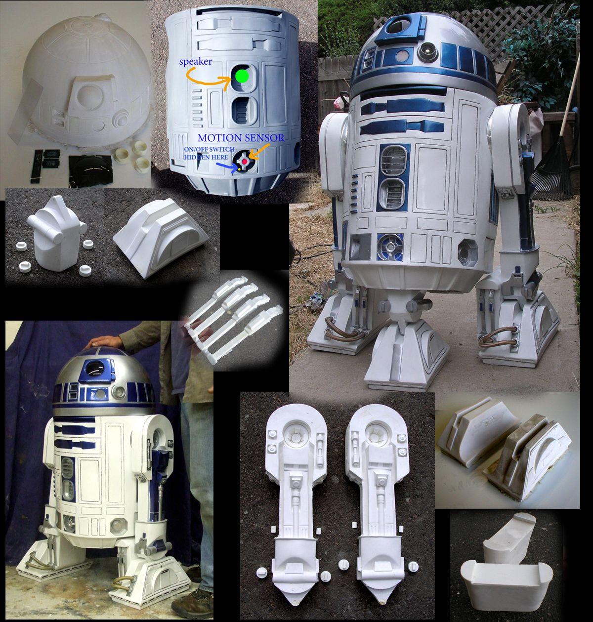 Astromech Kit Parts - DreamScheme Studios (Dome KIT $295.95)