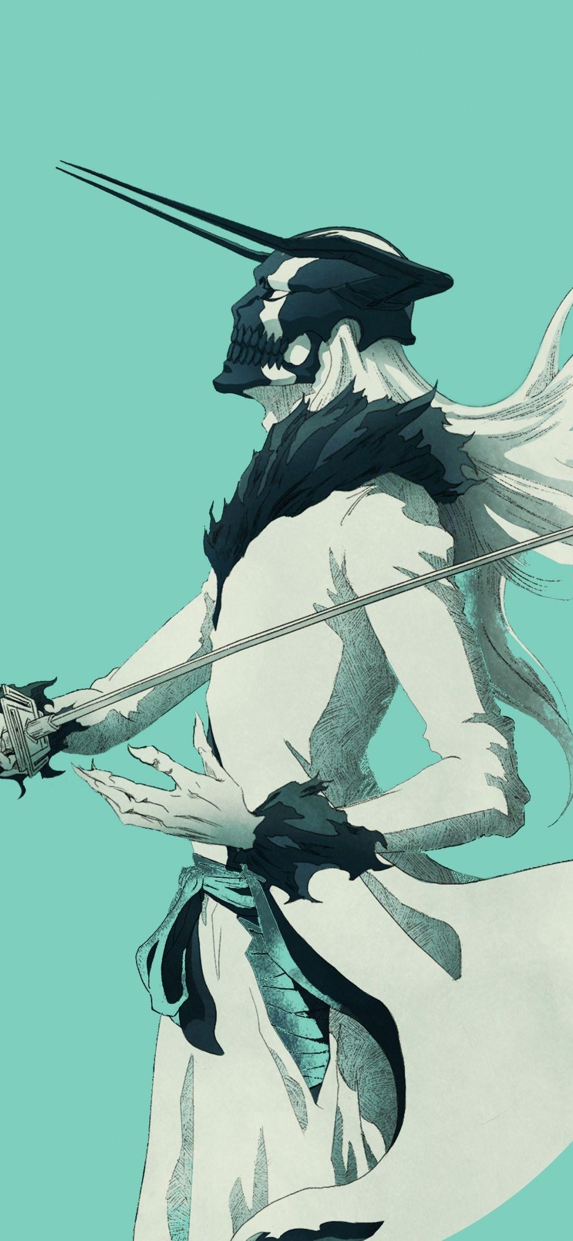 Anime, artwork, Ichigo Kurosaki, Bleach, 1125x2436