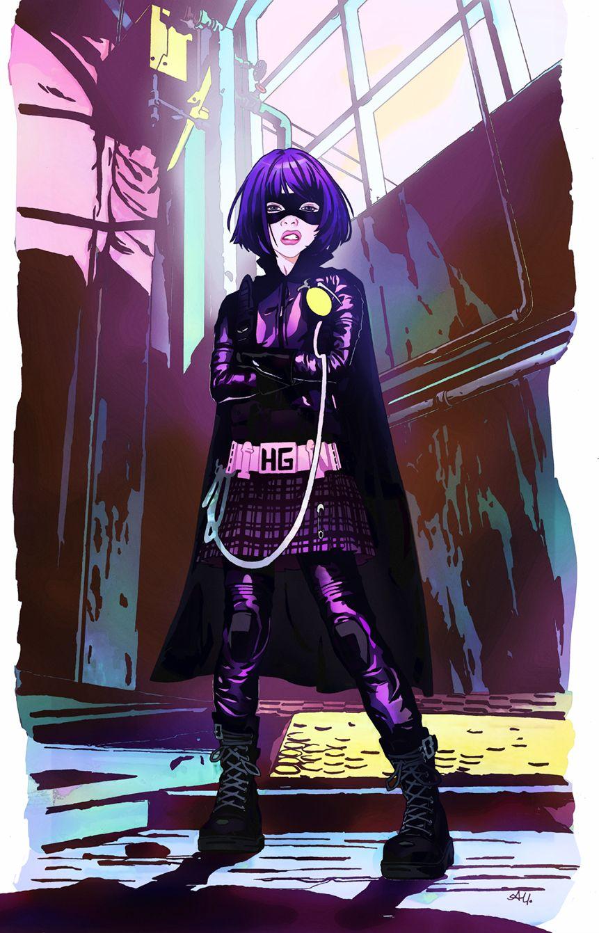 Hitgirl By Ayanimeya Deviantart Com On Deviantart キックアス