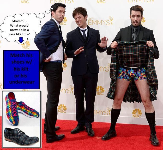 What Size Shoe Does Jonathan Scott Wear