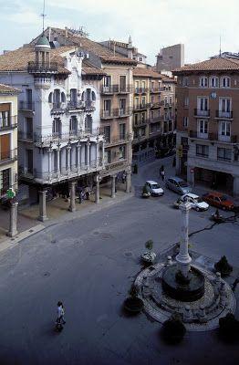 Plaza del Torico  Teruel  Spain