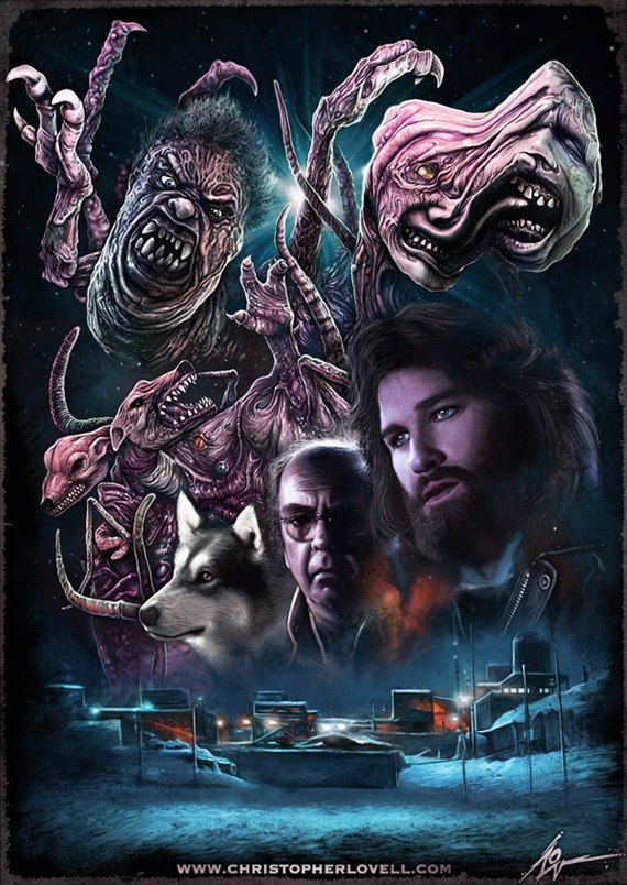 John Carpenter's The THING by Christopher Lovell