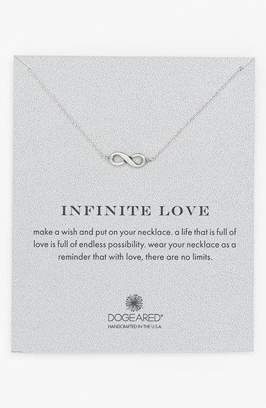 Reminder infinite love pendant necklace valentines gift ideas reminder infinite love pendant necklace aloadofball Gallery