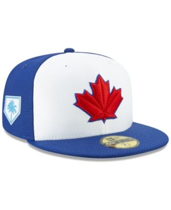 cheaper e2bf5 04f89 New Era Toronto Blue Jays Spring Training 59FIFTY-fitted Cap - Blue 7 1 2