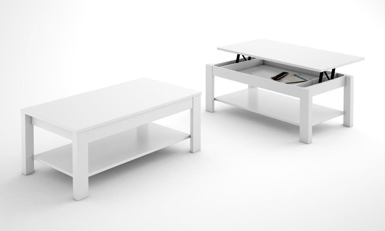Mesa de centro elevable bolonia conforama salones for Conforama mesas de salon