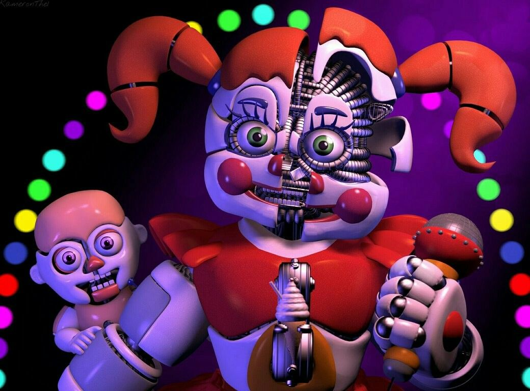 Circus Baby and Bidybab! These models are so accurate! | My