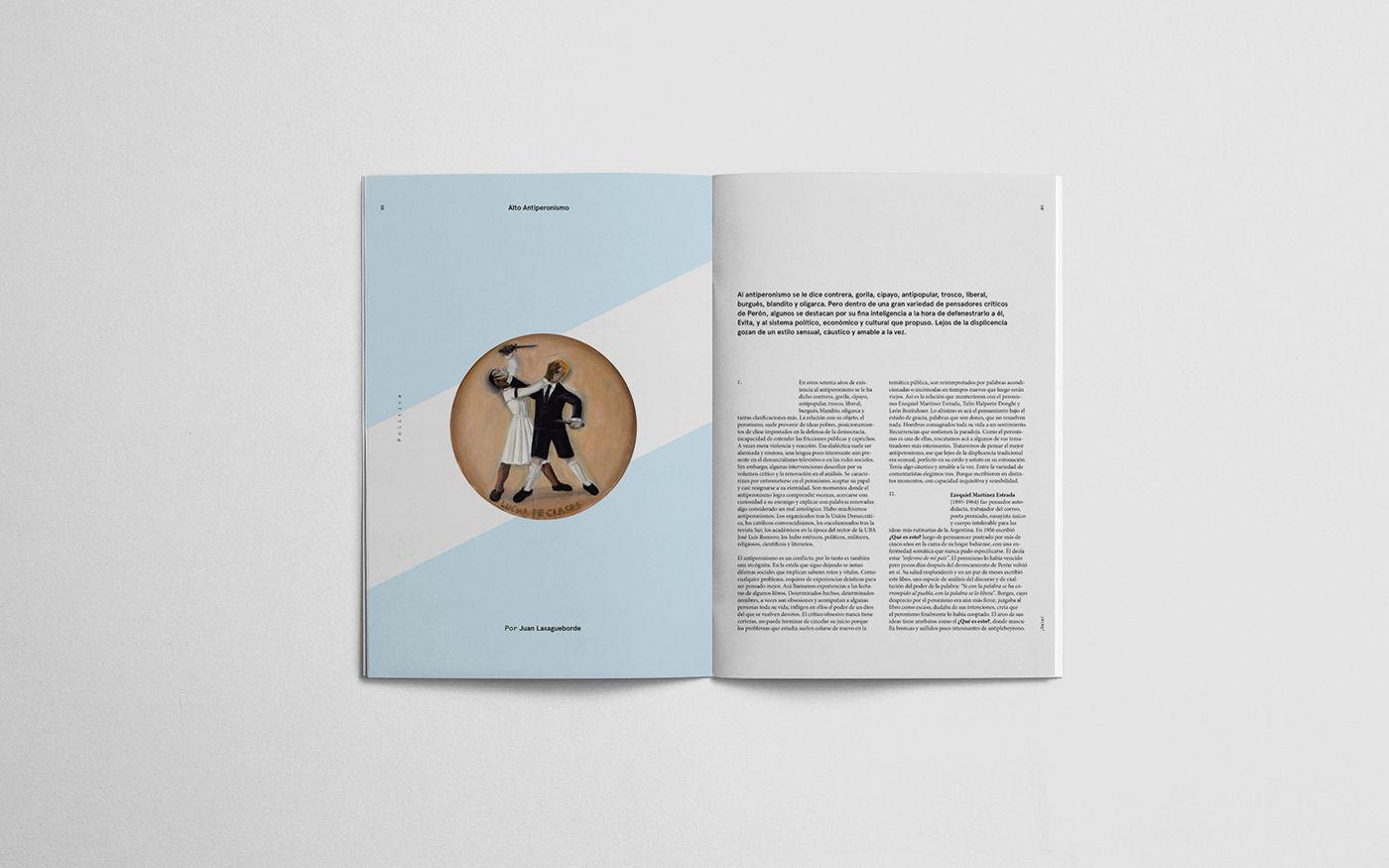 Revista ¡Dale! ® realizada para Diseño Editorial, cátedra Manela. FADU / UBA / 2015.