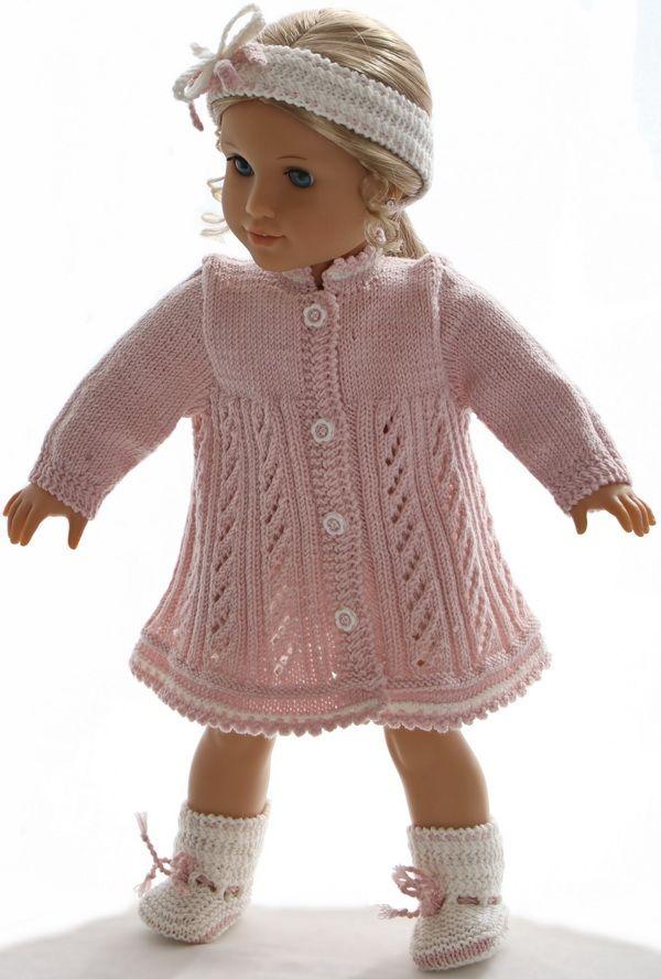 Hand Knitted Dolls Clothes Patterns Handcrafts Pinterest Dolls