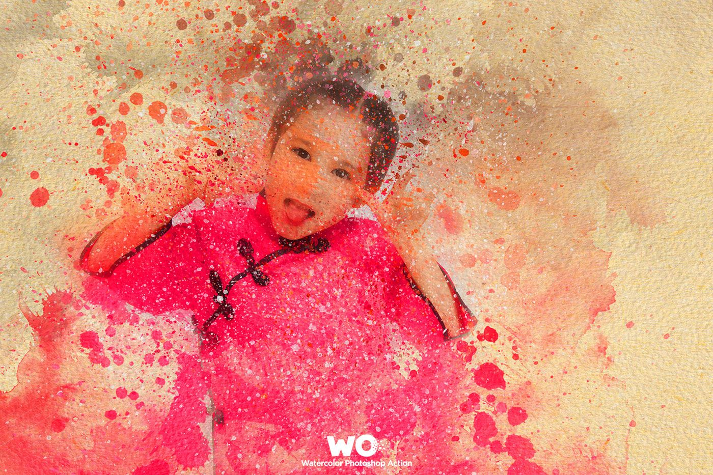 Wo Watercolor Photoshop Action Watercolor Photoshop Action