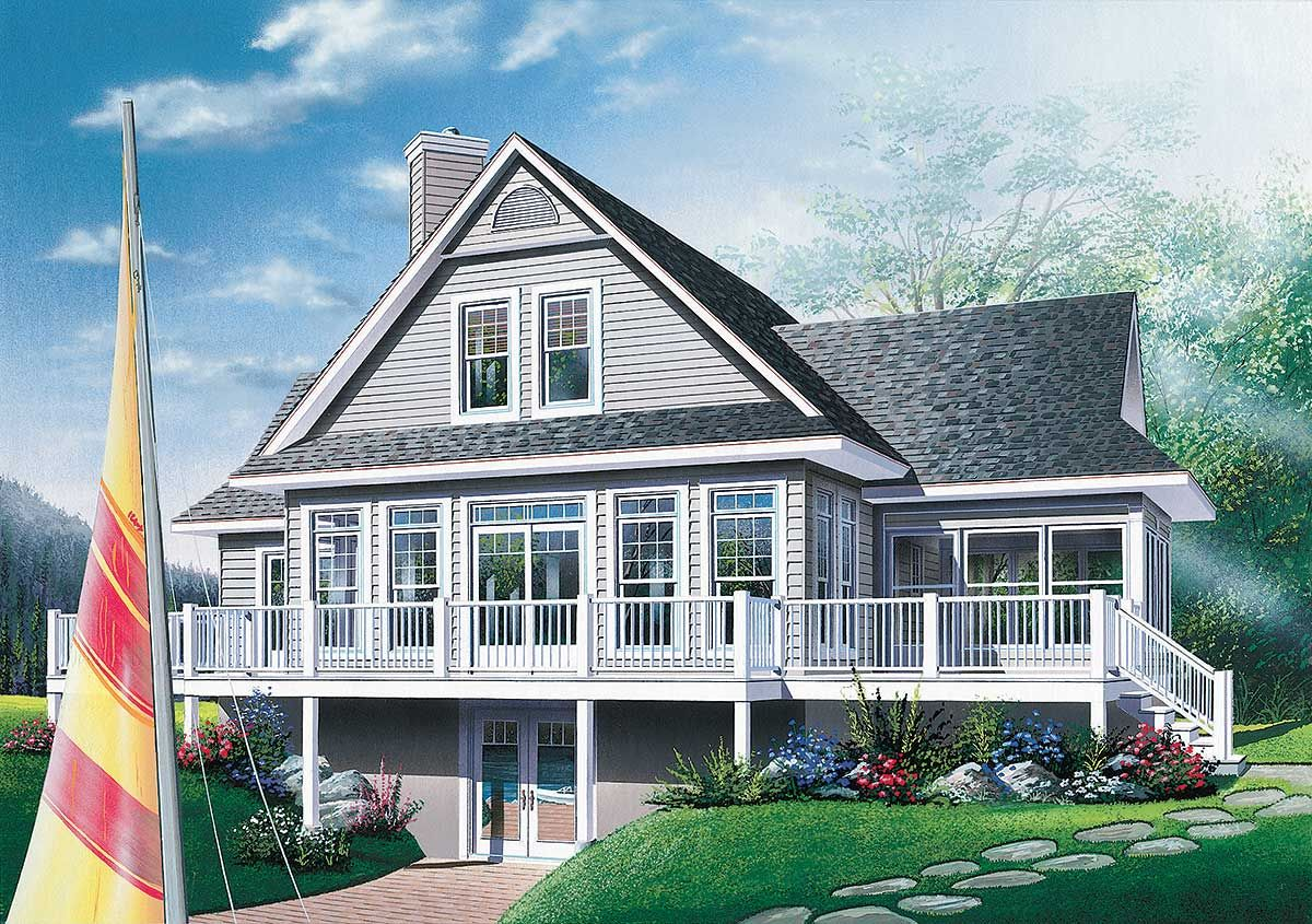 Mountain Vacation Home Plans Plan 2177Dr Fourseason Vacation Home Plan  Four Seasons Full