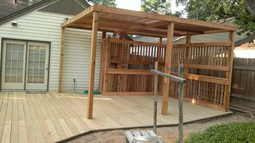 Best 2X6 Deck Treated Cedar Patio Cover Outdoor Living 400 x 300